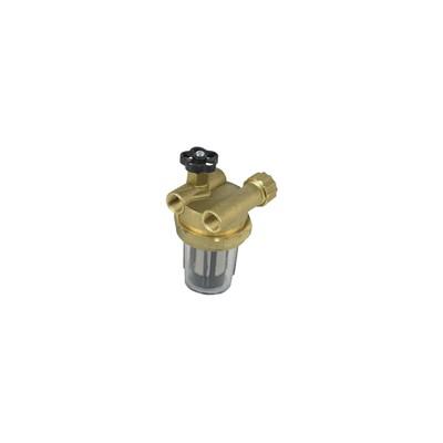 Filter of fuel filtre block valve serial recycling