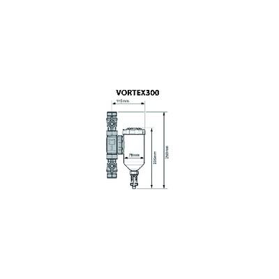 Valvola gas - Valvola gas HONEYWELL - combinata VK4105C1009 - HONEYWELL BUILD. : VK4105C1009U
