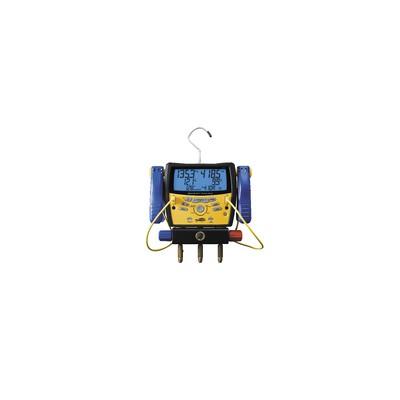 Digital manifold with built-in vacuum gauge - GALAXAIR : SMAN-3
