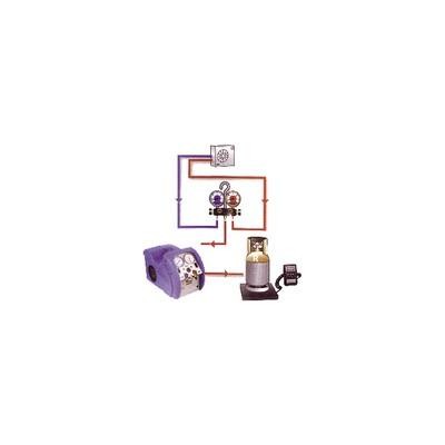 "Solenoid valve - Type ODE D102-2625 FF1"""