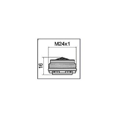 Guanti black mamba L misura 8/9 (X 100)