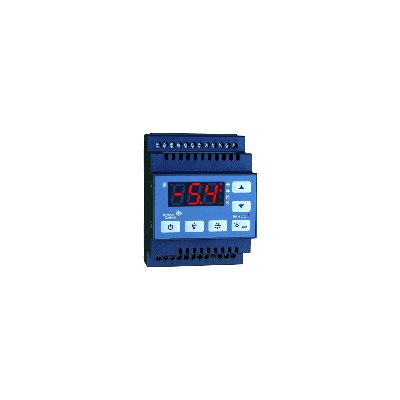 Regulador frío 5 contactos 1 sonda carril din - JOHNSON CONTR.E : MR55DR230-1CA