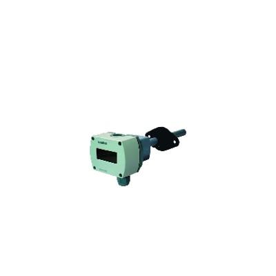 Sonde qualité air gaine CO2 COV LCD 0...10Vcc 0...5Vcc 0...100% 0...2000ppm - SIEMENS : QPM2102D