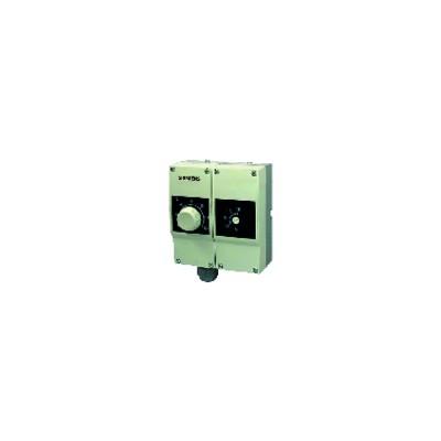 Thermostat réglage/limiteur double 40...120°C IP40 - SIEMENS : RAZ-TW.1200P-J