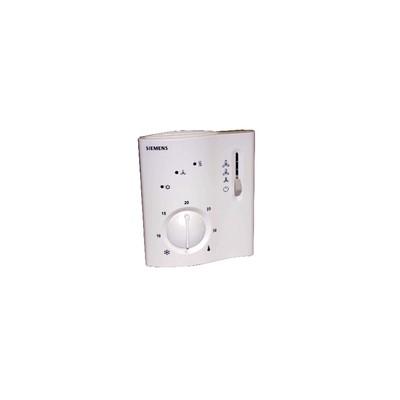 Thermostat électronique VC 2T TOR chaud froid - SIEMENS : RCC10