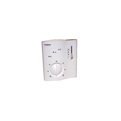 Raumthermostat für 4-Rohr-Ventilatorkonvektoren - SIEMENS: RCC30