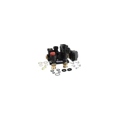 Cabezal termostática Thera-3 blanca con punto cero - HONEYWELL ECC : T6001WO