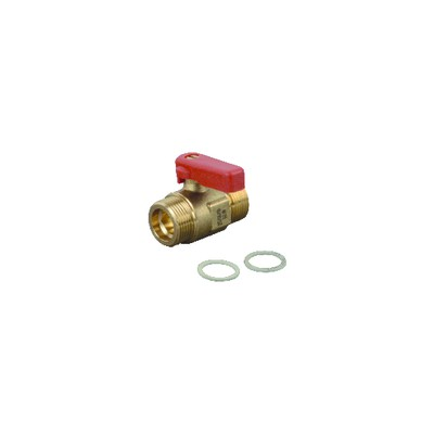 Standard thermostatic radiator valve body Calypso straight DN10 3/8 - IMI HYDRONIC : 3442-01.000