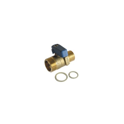 Adaptable thermostatic radiator valve body Eclipse angle DN10 3/8 - IMI HYDRONIC : 3461-01.000
