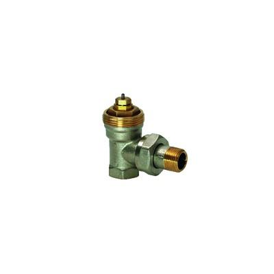 Válvula radiador escuadra Pn10 D - SIEMENS : VEN215