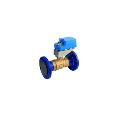 Flanged 2-way ball valve PN16 - JOHNSON CONTR.E : VG12E5GT