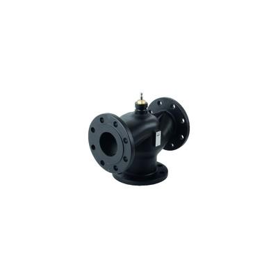 3 ways valve with flange fitting PN10 DN80 KVS100 - SIEMENS : VXF32.80-100