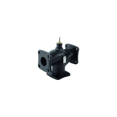 3-port valve, flanged, PN16, DN65, kvs 63 - SIEMENS : VXF42.65-63