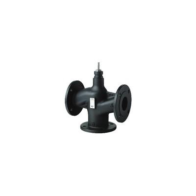 3-port seat valve, flanged, PN16, DN100, kvs 160 - SIEMENS : VXF43.100-160