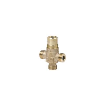 3 way terminal valve- brass - SIEMENS : VXP47.20-4