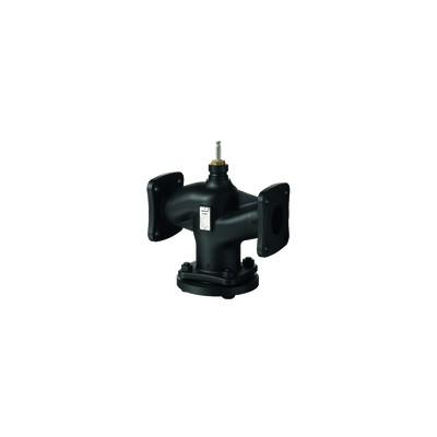 2-port valve, flanged, PN16, DN150, kvs 400 - SIEMENS : VVF42.150-400