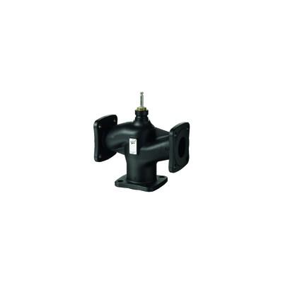 3-port valve, flanged, PN10, DN150, kvs 400 - SIEMENS : VXF32.150-400
