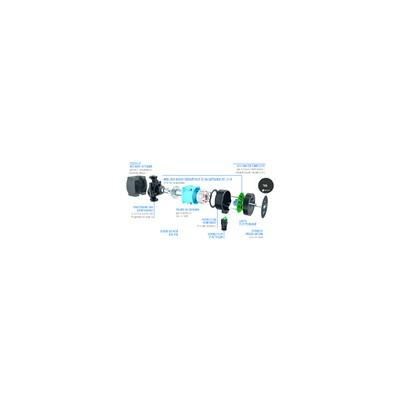 Rubinetteria industriale - Valvola a farfalla NF gas DN50
