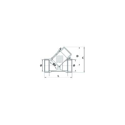 Luftdruckwächter - Lgw3 C2 - DUNGS : 257435