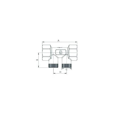 Moteur UPS 2 ph-40/60 - GRUNDFOS : 98334567