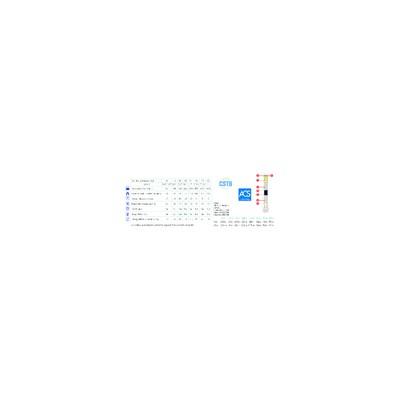 Flanschdichtung für Brenner - ELECTRO OIL - GIERSCH - HOVAL - WOLF - ST ROCH COUVIN - THERMOBLITZ  - GIERSCH : 31.16.10104