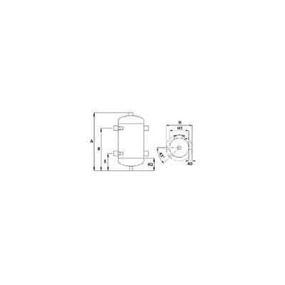 Limitatore con contatto standard (Tipo klixon) - BALTUR 26401