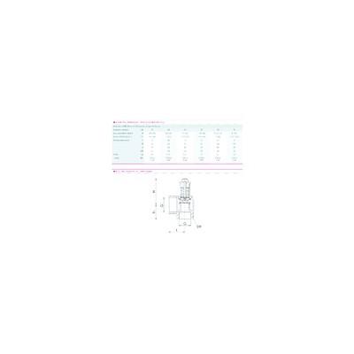 Centralita de control  LANDIS & GYR STAEFA - SIEMENS gasoleo - LMO14 111A2 ou B2 ou C2 - SIEMENS (LANDIS) : LMO14 111C2