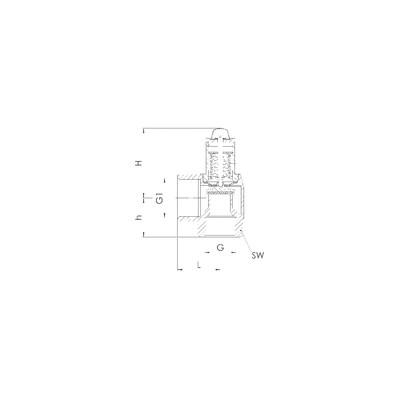 Resistenza blindata per scaldacqua - Specifico PACIFIC - ATLANTIC - SAUTER - THERMOR Rif 399275 - PACIFIC : 060413