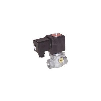 """Électrovanne gaz EVP NF 360mb FF1/2"""" 230Vac - MADAS : EVP02 008"""