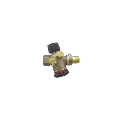 Cocon QTZ DN20 MF setting range 180 1300l/h - OVENTROP : 1145606