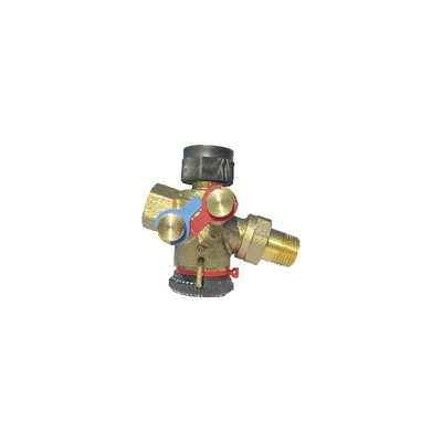 Cocon QTZ DN15 MF setting range 30 210l/h - OVENTROP : 1146004