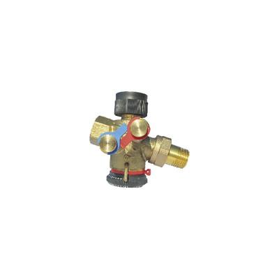 Cocon QTZ DN20 MF setting range 150 1050l/h - OVENTROP : 1146006