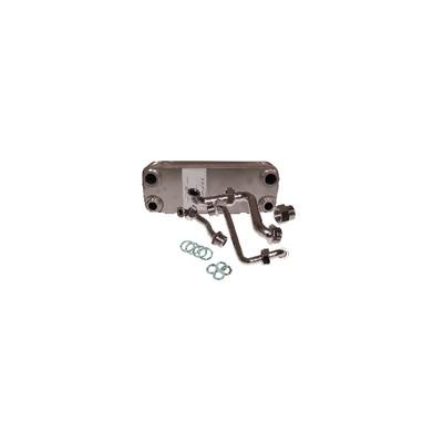 Intercambiador de calor 14 placas - DIFF para Vaillant : 064946
