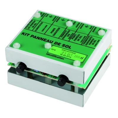 Standard Kondensator ständig  - 4 µF (Ø30 x Lg.60 x Gesamtlänge 84 )