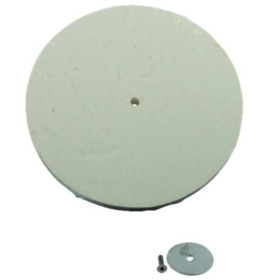 Refractarios - Trenza fibras minerales Ø 15 mm Lg 5 M