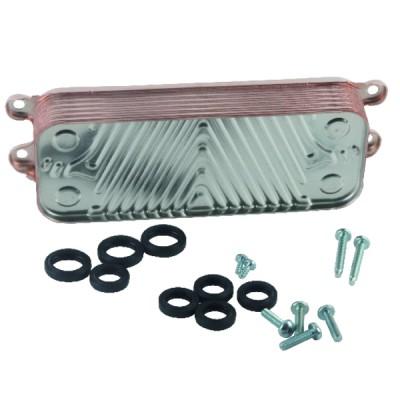 Thermostat ambiance programmable -  à piles LR6 - HAGER SAS : EK570