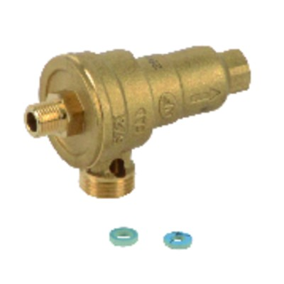 Domestic hot water shut-off valve  - UNICAL : 02959Z