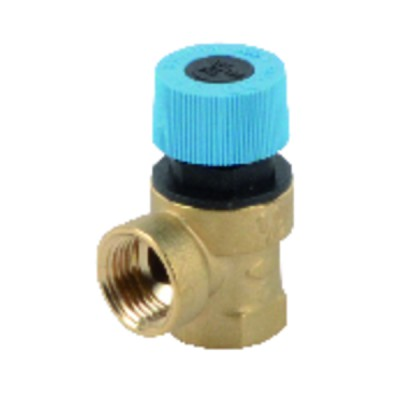 Domestic hot water safety valve 7 b. dua b / alkon cargo 35 / geal bcell - UNICAL : 03311W