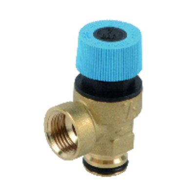 Domestic hot water valve 7 bar - UNICAL : 04168Z