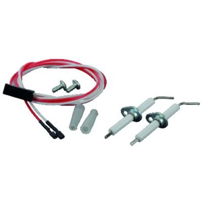 Boîte de contrôle SATRONIC gaz - DKG 972 - HONEYWELL BUILD. : 0432010U