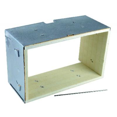 Boîte de contrôle SATRONIC gaz - TMG 740.3  modèle 43-35 remplace TMG740.2  modèle 45-54 - HONEYWELL BUILD. : 08218U
