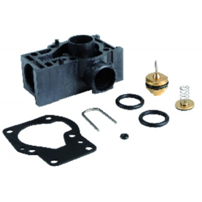 Câble haute tension standard - Droit fil HT-PTFE Ø 1.65mm connecteur droit 6,35 isolé (X 6)