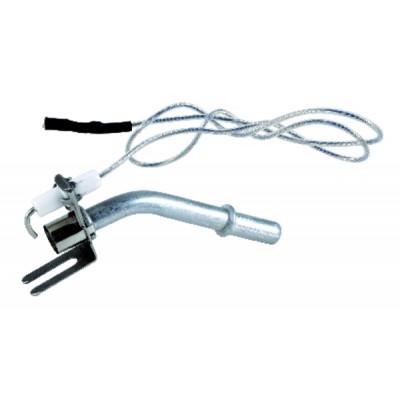 Cavo alta tensione - Cavi AT PTFE Ø 2.5mm terminale faston 2,8 (X 2)