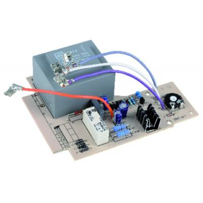 Câble haute tension standard - Equerre d'un côté / droit de l'autre (X 6)