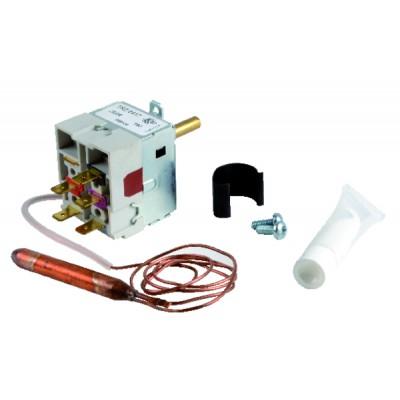 Standard Hochspannungskabel Draht-Set HT-PTFE Ø 1.65 mm 2 Kabelschuhe zum Falzen (X 2) - BAXI : 58084502