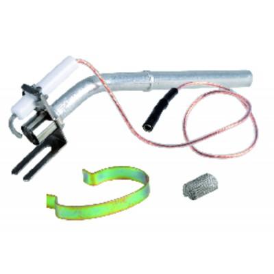 Kabelschuhe Verbinder D4 DRAHT 7 zum Schrauben   (X 12)