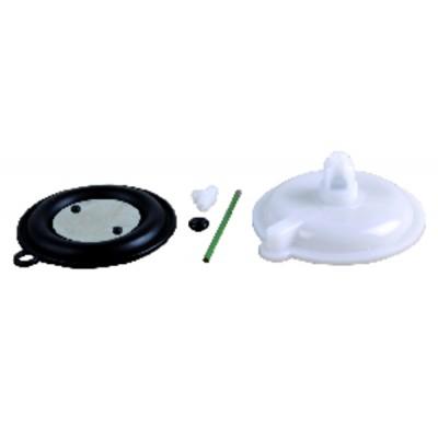 Cosses - Connecteur D 6,35FIL 5 isolé à visser (12 pièces)