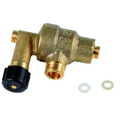 Électrode allumage - DIFF pour Weishaupt : 21140410207