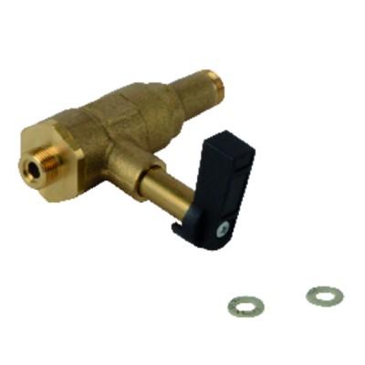 1 Bloc électrode WL10/15 - DIFF pour Weishaupt : 2412001019/7