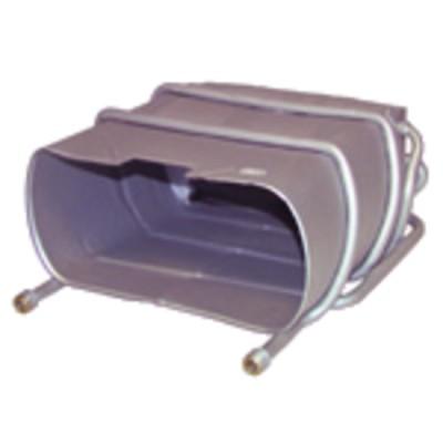 """Flessibile gasolio F1/4"""" x F1/4"""" a gomito 90° 1000 (X 2) - BAXI : S58366610"""